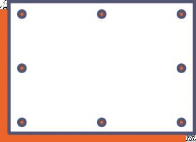 PVC-Banner einseitig
