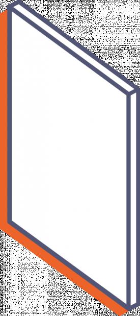 Plexiglas Milchglas-Platte