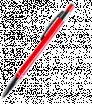Metall-Kugelschreiber mit Silber-Elementen