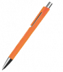 Kunststoff-Kugelschreiber mit Klipp aus einem Element