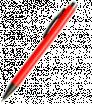 Kunststoff-Kugelschreiber mit grauen Elementen