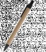 Papier-Kugelschreiber mit farbigem Klipp