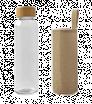 Glasflasche mit Juteummantelung 500 ml