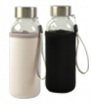 Glasflasche mit Neoprenhülle 300 ml