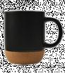 Keramiktasse mit Korkbehälter 350 ml